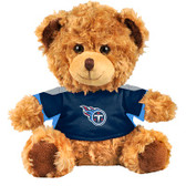 "Tennessee Titans 10"" Plush Teddy Bear w/ Jersey"