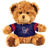 "Houston Texans 10"" Plush Teddy Bear w/ Jersey"