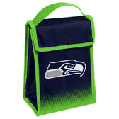 Seattle Seahawks Insulated Lunch Bag w/ Velcro Closure