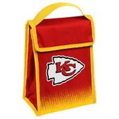 Kansas City Chiefs Insulated Lunch Bag w/ Velcro Closure