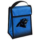 Carolina Panthers Insulated Lunch Bag w/ Velcro Closure