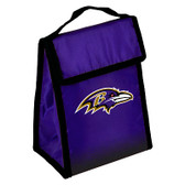 Baltimore Ravens Insulated Lunch Bag w/ Velcro Closure