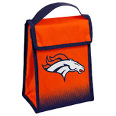 Denver Broncos Insulated Lunch Bag w/ Velcro Closure