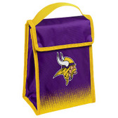Minnesota Vikings Insulated Lunch Bag w/ Velcro Closure