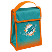 Miami Dolphins Insulated Lunch Bag w/ Velcro Closure