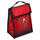 Tampa Bay Buccaneers Insulated Lunch Bag w/ Velcro Closure