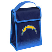Los Angeles Chargers Insulated Lunch Bag w/ Velcro Closure