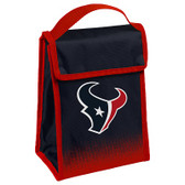 Houston Texans Insulated Lunch Bag w/ Velcro Closure