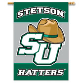 "Stetson 2-Sided 28"" X 40"" Banner W/ Pole Sleeve"