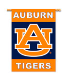 "Auburn Tigers 2-Sided 28"" X 40"" Banner W/ Pole Sleeve"