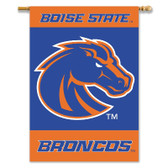 """Boise State Broncos 2-Sided 28"""" X 40"""" Banner W/ Pole Sleeve"""