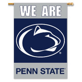 "Penn State Nittany Lions 2-Sided 28"" X 40"" Banner W/ Pole Sleeve"
