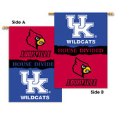 "Kentucky - Louisville 2-Sided 28"" X 40"" Banner W/ Pole Sleeve House Divided"
