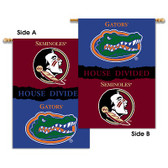 "Florida - Florida St. 2-Sided 28"" X 40"" Banner W/ Pole Sleeve House Divided"