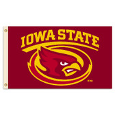 Iowa State Cyclones 2-Sided 3 Ft. X 5 Ft. Flag W/Grommets