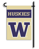 Washington Huskies 2-Sided Garden Flag
