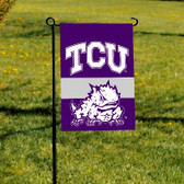 TCU Horned Frogs 2-Sided Garden Flag