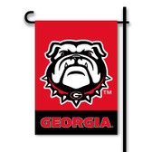 Georgia Bulldogs 2-Sided Garden Flag