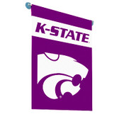 Kansas State Wildcats  2-Sided Garden Flag