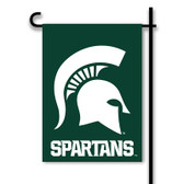 Michigan State Spartans 2-Sided Garden Flag