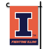 Illinois Fighting Illini 2-Sided Garden Flag