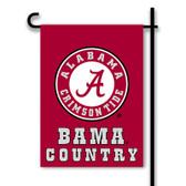 Alabama Crimson Tide 2-Sided Country Garden Flag