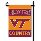 Virginia Tech Hokies 2-Sided Country Garden Flag