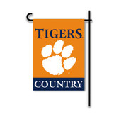 Clemson Tigers 2-Sided Country Garden Flag