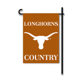 Texas Longhorns 2-Sided Country Garden Flag