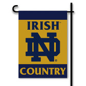 Notre Dame Fighting Irish 2-Sided Country Garden Flag
