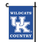 Kentucky Wildcats 2-Sided Country Garden Flag