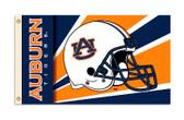 Auburn Tigers 3 Ft. X 5 Ft. Flag W/Grommets - Helmet Design