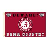 Alabama Crimson Tide 3 Ft. X 5 Ft. Flag W/Grommets - Country