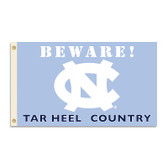 North Carolina Tar Heels 3 Ft. X 5 Ft. Flag W/Grommets - Country