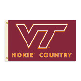 Virginia Tech Hokies 3 Ft. X 5 Ft. Flag W/Grommets - Country