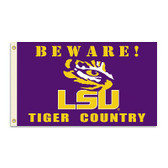 LSU Tigers 3 Ft. X 5 Ft. Flag W/Grommets - Country