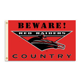 Texas Tech Red Raiders 3 Ft. X 5 Ft. Flag W/Grommets - Country