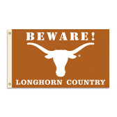Texas Longhorns 3 Ft. X 5 Ft. Flag W/Grommets - Country
