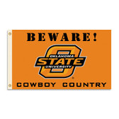 Oklahoma State Cowboys 3 Ft. X 5 Ft. Flag W/Grommets - Country