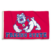 Fresno State 3 Ft. X 5 Ft. Flag W/Grommets