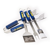 Michigan Wolverines 4 Pc BBQ Set