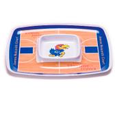 Kansas Jayhawks Chip & Dip Tray
