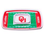 Oklahoma Sooners Chip & Dip Tray