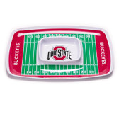 Ohio State Buckeyes Chip & Dip Tray