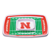 Nebraska Cornhuskers Chip & Dip Tray