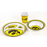Iowa Hawkeyes   Kid's 3 Pc. Dish Set