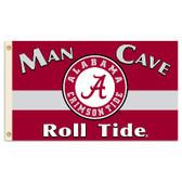 Alabama Crimson Tide Man Cave 3 Ft. X 5 Ft. Flag W/ 4 Grommets