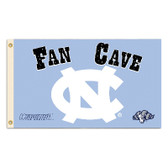 North Carolina Tar Heels Man Cave 3 Ft. X 5 Ft. Flag W/ 4 Grommets