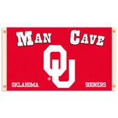 Oklahoma Sooners Man Cave 3 Ft. X 5 Ft. Flag W/ 4 Grommets