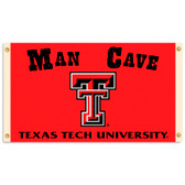 Texas Tech Red Raiders Man Cave 3 Ft. X 5 Ft. Flag W/ 4 Grommets